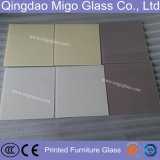 Painéis de vidro endurecidos coloridos da mobília da impressão da parte traseira da segurança, vidro de Splashback