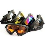 Negro Gris PRO Airsoft X 400 Tactical polvo del viento Protección Gafas, Gafas de seguridad de motos Sport Gafas