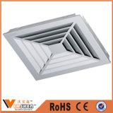 HVACの粉の上塗を施してある空気調節の拡散器の正方形の天井の拡散器