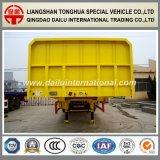 Flanco del fabricante/semi-remolque lateral del transporte de cargo a granel del acoplado del carro de la gota