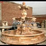 Marmeren Ny van de Fontein van het Graniet van de Fontein van de Steen van de Fontein Rode Fontein mf-368