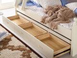 固体木のベッド部屋の二段ベッドの子供の二段ベッド(M-X2205)