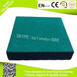 Azulejos de suelo de goma de la gimnasia durable cuadrada de la dimensión de una variable