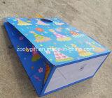 Personnaliser le sac de cadeau de papier de joyeux anniversaire de scintillement de modèle