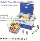 차를 위한 DC 12/24V 이동할 수 있는 냉장고