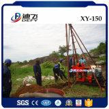 Plate-forme de forage montée par remorque portative témoin de faisceau de Xy-150 Spt à vendre