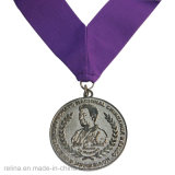 Marathon su ordinazione Sport Running Enamel Medal con Ribbon