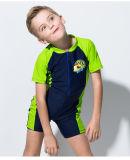 Swimwear &One-Части Wetwear втулки малыша конструкции способа короткий