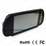 7 polegadas TFT LCD Car Mirror Quad Split Monitor