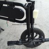Bicyclette électrique pliable avec la batterie de Lithium36V