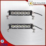 6.8inch 30W choisissent la barre d'éclairage LED de rangée pour tous terrains, la piste, 4X4, jeep