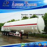 3 Radachse 30-35t Low Density Bulk Cement Tank Semi Truck Trailer (38m³) (LAT9406GFL)
