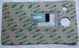 印刷された図形オーバーレイが付いているカスタマイズされた防水膜のキーパッドスイッチ
