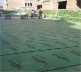 1.5 mm-Stärke dehnbarer HDPE Film-selbstklebende wasserdichte Membrane für Dach /Basement /Garage /Underground /Underlay geglaubt (ISO)
