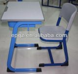 다채로운 School Furniture Adjustable Calssroom Single Desk 및 Chair (SF-07A)
