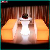 Asiento encendido muebles de los muebles LED del partido de los muebles del club