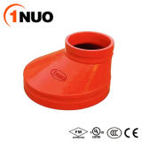 FM/UL/Ce Approved Pipe Fittings Ductile Iron Reducer (acanalado)
