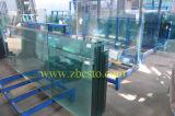 Прокатанный балкон закаленный/прокладывающ рельсы архитектурноакустическое стекло, дешевая оптовая цена