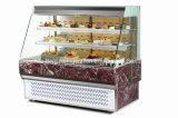 Gabinetes de exhibición de la torta refrigerada de la venta caliente