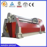 Máquina de dobra para o metal de folha, máquina da placa do rolo do rolo do CNC quatro da alta qualidade W12S-30*3000 do tipo do ABRIGO de dobra do metal