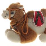 Jouet bourré par jouet vif personnalisé d'animal sauvage de peluche de peluche de chameau