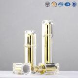 bouteille de empaquetage cosmétique de luxe carrée acrylique en plastique de qualité de 15ml 30ml 50ml 100ml