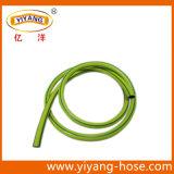 Quattro righe verdi tubo flessibile di simbolo di giardino giallo