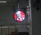 Alto segno acrilico personalizzato di marchio Backlit LED della casella chiara