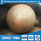Venda quente esfera de aço de moedura forjada 3.5 polegadas com carbono elevado
