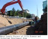 Tubo recto del HDPE para el abastecimiento de agua