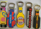 높은 Quality Plastic Promotional Gift 3D Silicone Bottle Opener (BO-004)