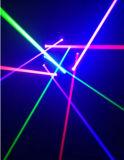 9目RGB/Singleの緑のくも移動ヘッドレーザー光線