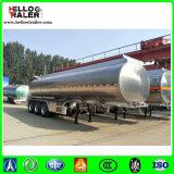 Tri petroleros del árbol para el transporte diesel con la capacidad de 40.000lts en aluminio