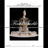 Marmeren Gouden Fontein mf-259 van de Woestijn van de Fontein van het Graniet van de Steen