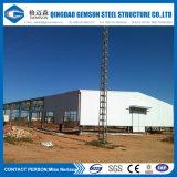 速いインストールが付いている熱い電流を通された製造された鉄骨フレームの倉庫