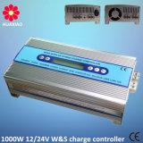 outre de l'énergie éolienne hybride du contrôleur 600W de charge de réseau et du système de l'alimentation 550W solaire