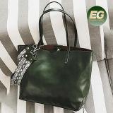 뱀 결박 Sy8531를 가진 2017년 중국 공급자 Fatory 가격 PU 큰 끈달린 가방 숙녀 핸드백