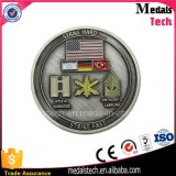 Изготовленный на заказ золото Sandblasting мягкая монетка возможности металла эмали для сбывания
