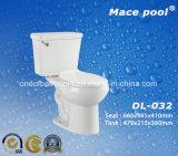 목욕탕 부속품 세라믹 수세식 변소 2개 피스 작풍 (DL-032)