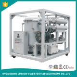 Purificação de petróleo do transformador do vácuo do Dobro-Estágio do tipo de Lushun, purificador de petróleo