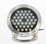 Lumière sous-marine extérieure de la lumière 36W DEL de syndicat de prix ferme de la couleur IP68