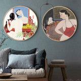 HD het naakte het Schilderen van het Canvas van de Olie van de Vrouwen van het Geslacht Beeld van de Kunst van de Muur/het Beeld van het Olieverfschilderij voor de Decoratie van het Huis