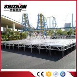 China-Aluminium baut bewegliches Stadium für Verkauf zusammen