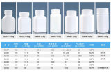 бутылка квадрата плеча HDPE 150ml Inclined для упаковывать твердой микстуры пластичный