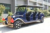 Пассажирский автомобиль корабля тележки гольфа 6 Seater классицистический электрический