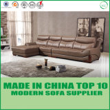 Beste Luxuxmöbel in China L Form-Leder gepolstertes Sofa