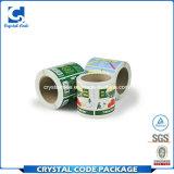 Collant de empaquetage durable imperméable à l'eau fait sur commande d'étiquette d'impression