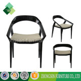 低の簡単な様式は支持するレストラン(ZSC-14)のための椅子のプラスチック椅子を
