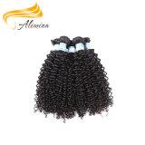 贅沢なバージンRaw 毛の高品質のインドの人間の毛髪