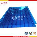 UV 보호 쌍둥이 벽 폴리탄산염 제품 제조자